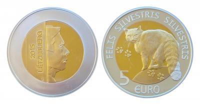 Люксембург_5 евро_2015_Кот_Форум.jpg