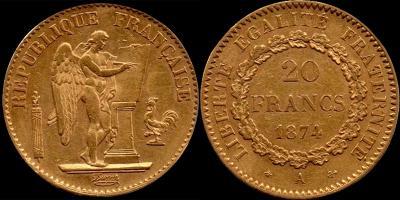 Франция 20 франков 1874 год.jpg
