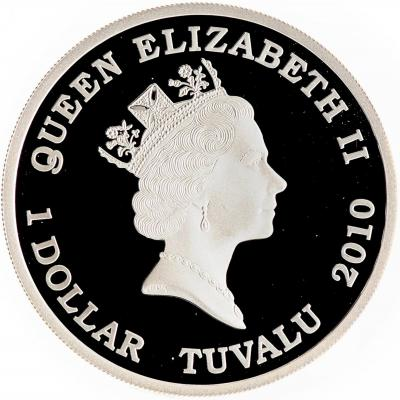 Тувалу 1 доллар 2010 Сражение под Берлином (2).jpg