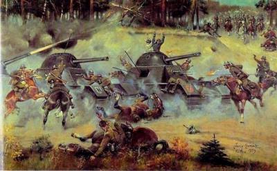 польская кавалэрия против  фантастических танков Гудериана.jpg