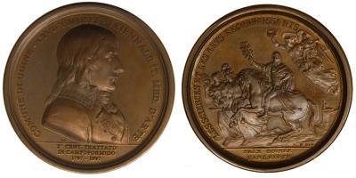 17 октября 1797 года заключен Кампо-Формийский мир (мирный договор между Францией и Австрией, завершивший первый этап Революционных войн).JPG
