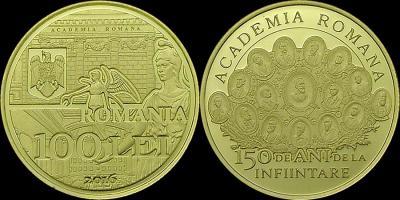 150 лет со дня создания Румынской академии золото (14 марта).jpg