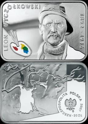 11 апреля 1852 года родился - Леон Вычулковский(Польша, 20 злотых 2007).jpg