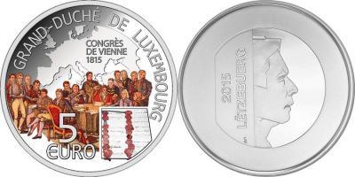 11 апреля 1767 года родился Жан-Батист Изабе (Люксембург 5 евро 2015 года).jpg
