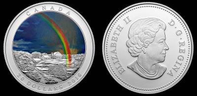 Канада «Радуга» 2016 –  номиналом 20$.JPEG