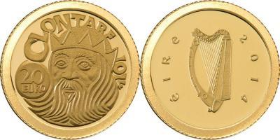 23 апреля 1014 года состоялась битва при Клонтарфе(Irland-2014-20-euro).jpg