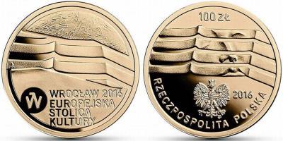 Польша 100 злотых, 2016 Вроцлав.jpg