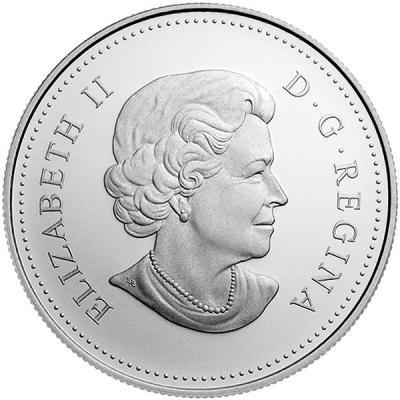 Канада – 2015 – 5 Долларов – Год овцы (козы) (PROOF)..jpg