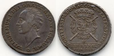 Schaumburg-Lippe, Wilhelm I. Friedrich Ernst Dicktaler 1765, Bückeburg, Dav. 2764.jpg