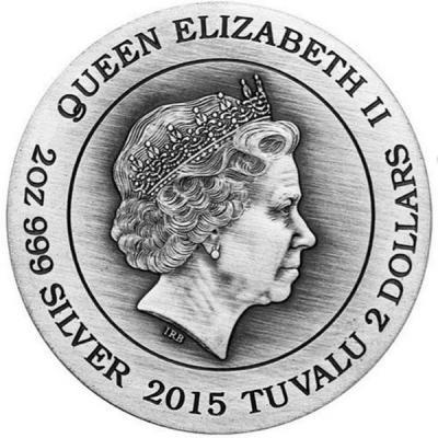 Тувалу 2015 2 доллара Богини Олимпа аверс.jpg