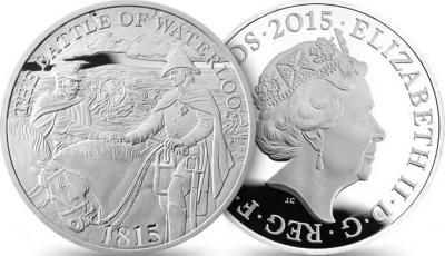 Великобритания 2015, 2 фунта стерлингов, Битва при Ватерлоо 2015.jpg