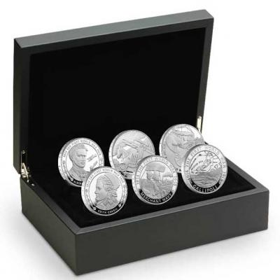 Великобритания 2015, £ 5 серебро, набор из 6 монет Первая мировая.jpg