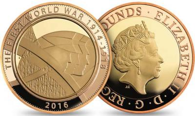 Великобритания 2016  Армия 2016 UK £ 2 Золото.jpg