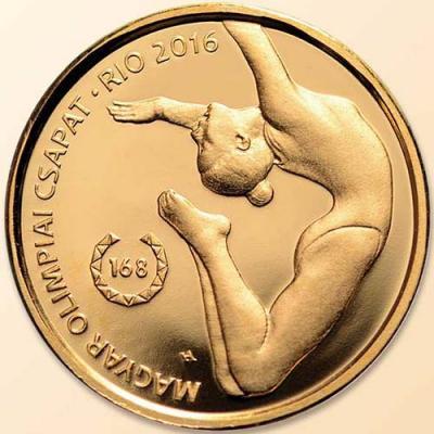 Венгрия. Олимпийские игры в Рио 2016 год, 5000 форинтов(реверс).jpg
