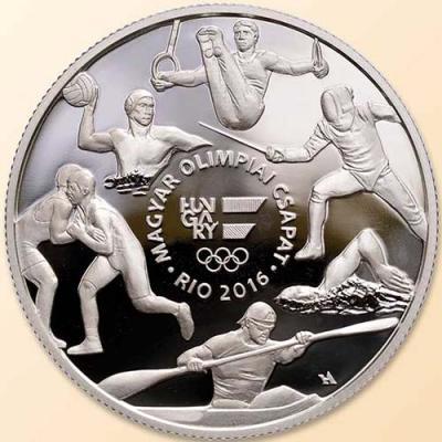 Венгрия. Олимпийские игры в Рио 2016 год, 10000 форинтов(реверс).jpg