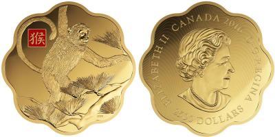 Канада $ 2500 2016  Год обезьяны, Лунный Лотос.jpg