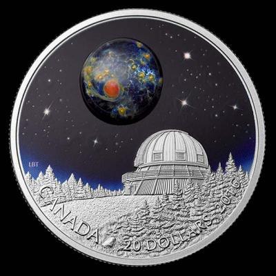 Канада 2016 год 20 долларов Вселенная 2.jpg