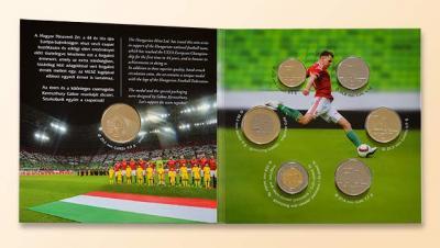 Венгрия. 2016 год. Годовой набор обиходных монет Сборная по футболу.jpg