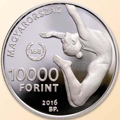 Венгрия. Олимпийские игры в Рио 2016 год, 10000 форинтов(аверс).jpg