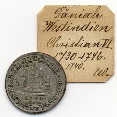 DÄNISCH-WESTINDIEN Christian VI., 1730-1746. 12 Skilling 1740, Kopenhagen.jpg