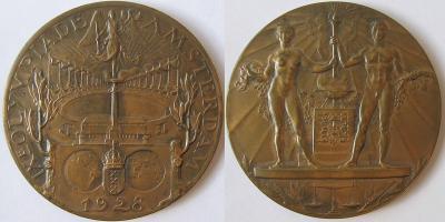 17 мая по 12 августа 1928 года проходили IX Олимпийские игры в Амстердаме.jpg