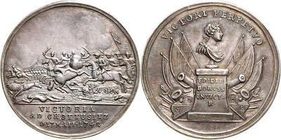 17 мая 1742 — Фридрих II разбил австрийцев в битве у Шотузица (Силезия)..jpg