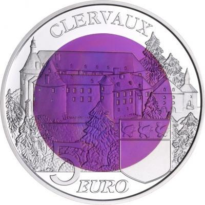 Люксембург  5 евро «Замок Клерво» (реверс).jpg