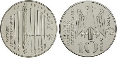 24 мая 1686 года родился - Даниель Габриель Фаренгейт(10-euro-fahrenheit-skala-2014).jpg