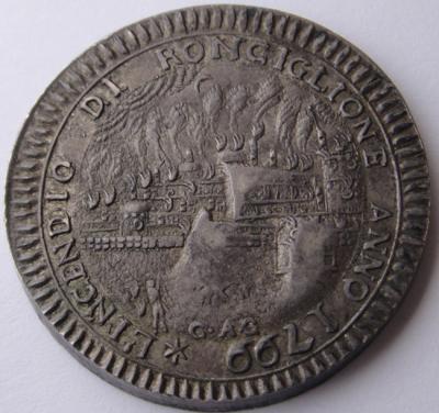 KIRCHENSTAAT VATIKAN 1. Römische Republik, 1798-1799. Ag.  Ronciglione.JPG