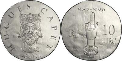 1 июня 987 года - королем Франции становится Гуго Капет(france-2012-10e, 50е).jpg