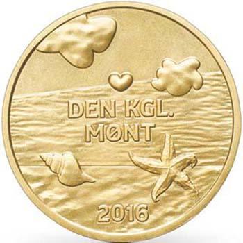 Дания детский годовой набор обиходных монет 2016 года жетон.jpg