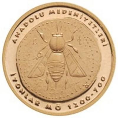 ТУРЦИЯ 2016 г, 100 турецких лир, золото.JPG