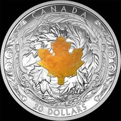 Канада, 20 долларов, 2016 Кленовый лист (реверс)1.jpg