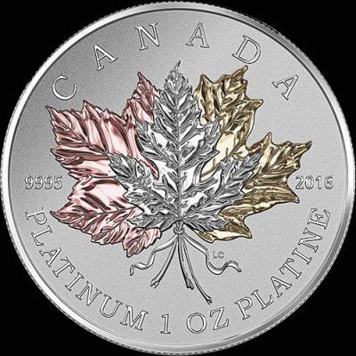 Канада 300 долларов 2016, кленовые листья (реверс).jpg