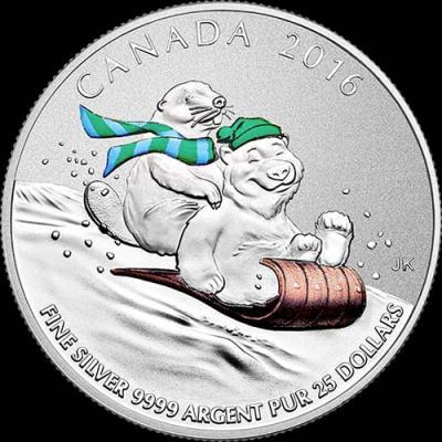 Канада, 25 долларов, 2016 зимние развлечения (реверс)1.jpg