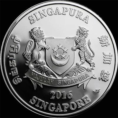 Сингапур 1 доллар 2016  орхидея (аверс).jpg