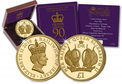 Остров Джерси 2016 1 фунт золото 90 лет королеве.jpg