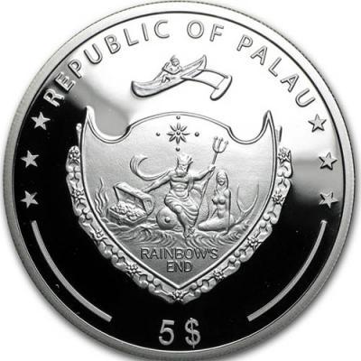 Палау, 5 доллара 2016 года (аверс).jpg