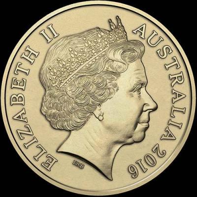 Австралия, 1 доллар 2016 года, (аверс).jpg