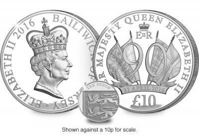 Остров Джерси. 2016, 10 фунтов. серебро 90 лет королеве.jpg