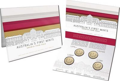 Австралия, набор 4х1 доллар 2016 года, «Минтмарки Австралийских монетных дворов» (упаковка).jpg