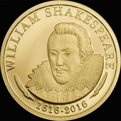 Острова Кука – 2016 – 5 Долларов – Уильям Шекспир (реверс).jpg