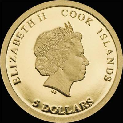 Острова Кука – 2016 – 5 Долларов – Уильям Шекспир (аверс).jpg