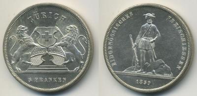 Швейцария-Цюрих-5франков-1859.jpg