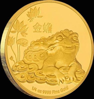 Остров Ниуэ 25 долларов 2016 года «Денежная жаба».jpg