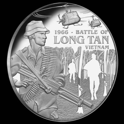Остров Ниуэ 1 доллар 2016 года «Сражение при Лонгтане».jpg