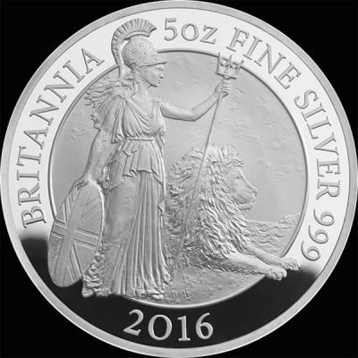 Великобритания 10 фунтов стерлингов 2016 года «Британия со львом» (реверс).jpg