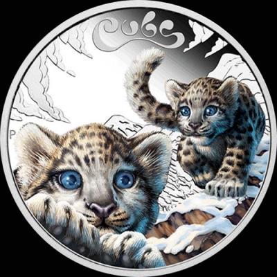 Тувалу 50 центов 2016 Детёныши леопарда.jpg
