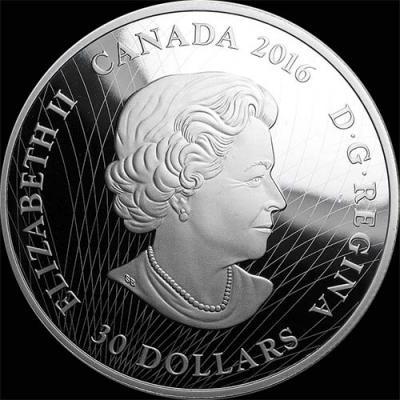 Канада, 2016 год, 30 долларов, Северное сияние (аверс).jpg
