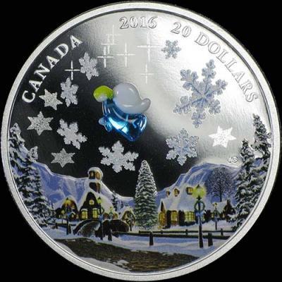 Канада, 20 долларов, 2016 Ангел на рождество (реверс)1.jpg